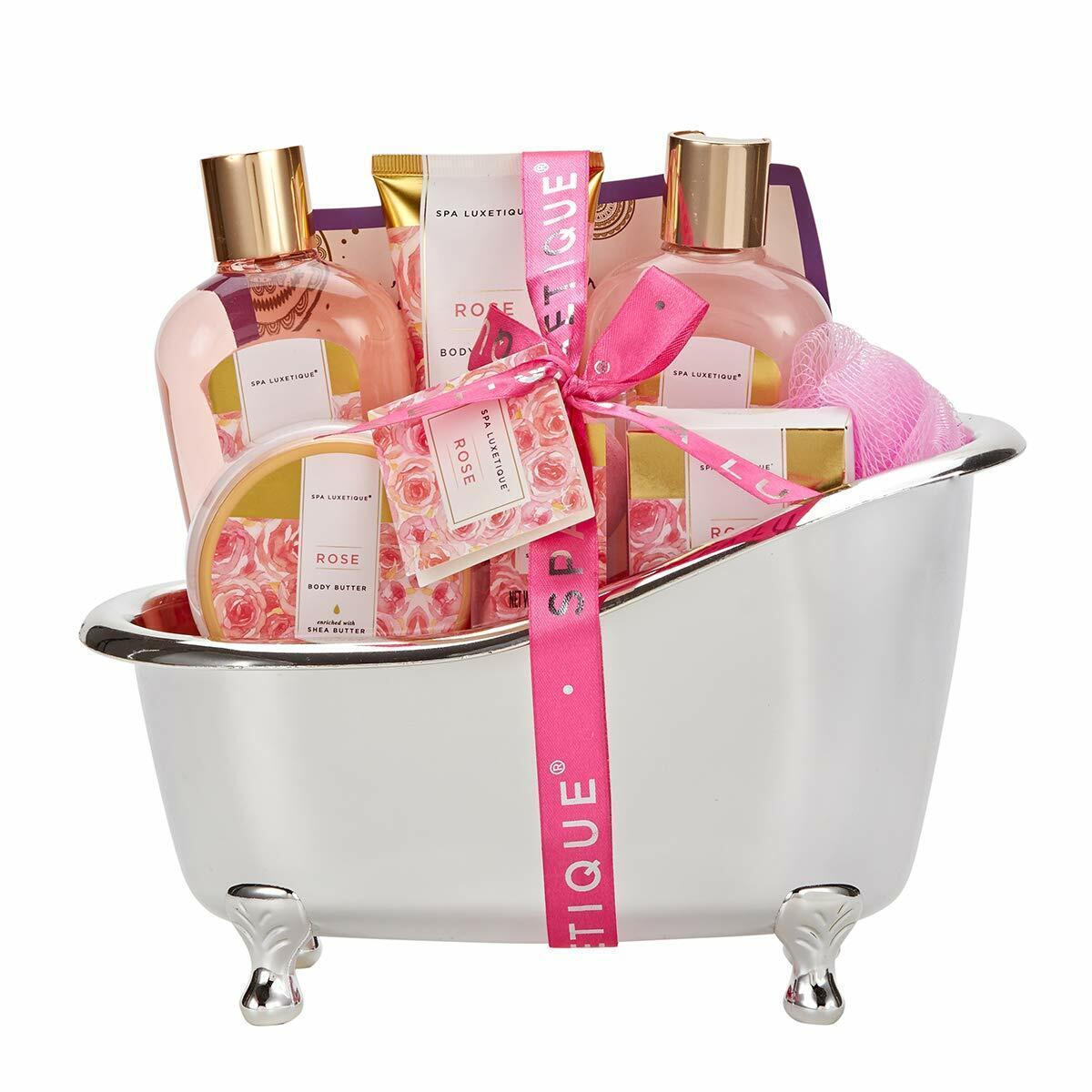 Birthday Christmas Gift Basket Set Bath Tub And Body Works S