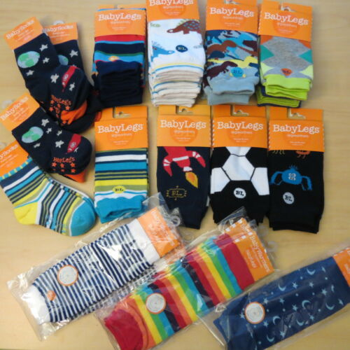 NEW Boys Baby Legs Leg warmers Arm Sleeves Socks Knee Crawling Protection