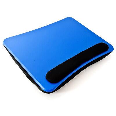 Laptopkissen Blau Schoßtablett Lapdesk Knietisch Laptoptisch Handauflage u Griff ()