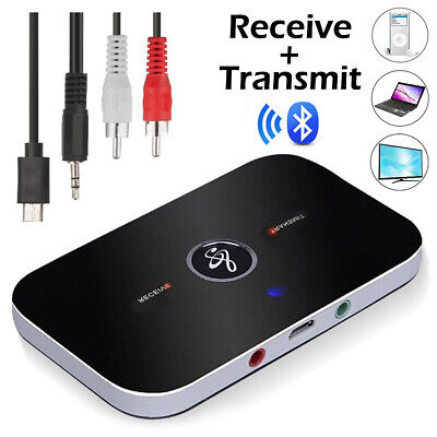 Bluetooth Transmitter & Receiver Wireless Adapter For Home stereos/speakers