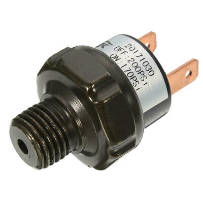 Air Compressor Tank Pressure Switch 170 Psi On-200 Psi Off Air Ride Suspension