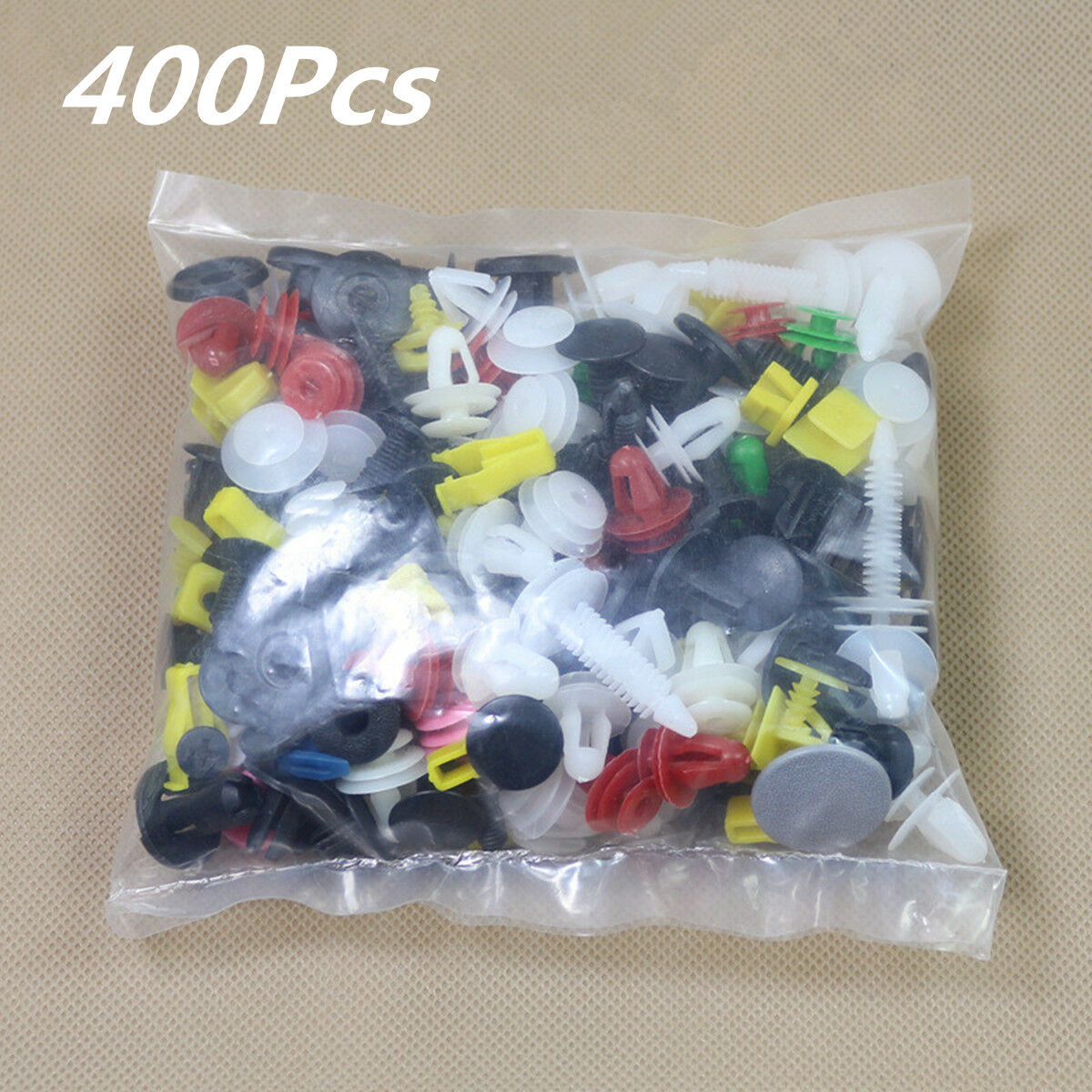 400PCS/Bag Mixed Plastic Fastener Vehicle Car Bumper Door Liner Clips Retainers