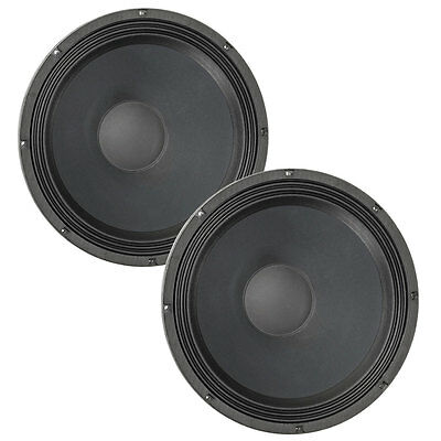 Pair Eminence Sigma Pro 18A 2 18  Sub Woofer 8Ohm 99Db 3 Vc Replacement Speaker