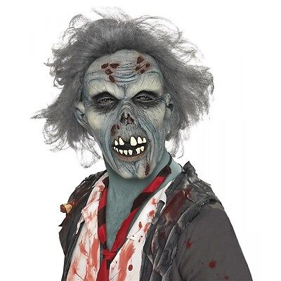 Zombie Mask Adult Scary Halloween Costume Fancy Dress - Adult Scary Halloween Costumes