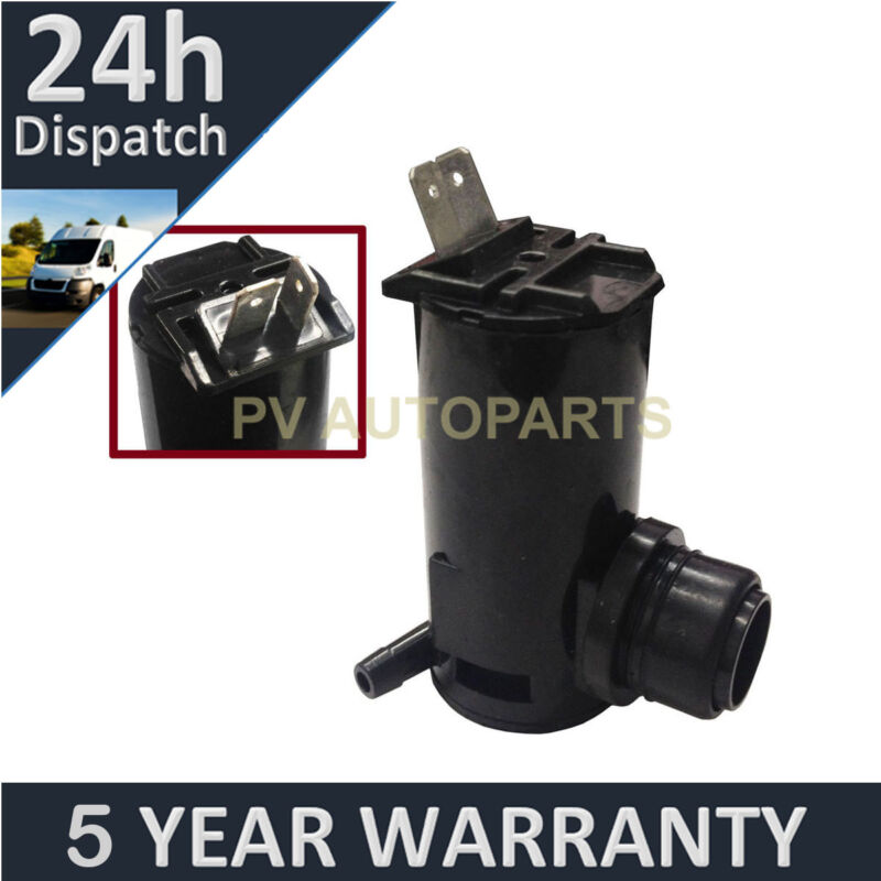 FOR FORD LEXUS MITSUBISHI TOYOTA WINDSCREEN WASHER PUMP FRONT/REAR SINGLE OUTLET