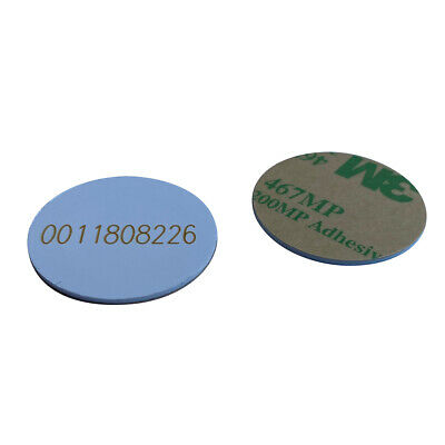 125khz Rfid Tag Em4100tk4100 Id Coin 3m Stickers 25mm Pack Of 10