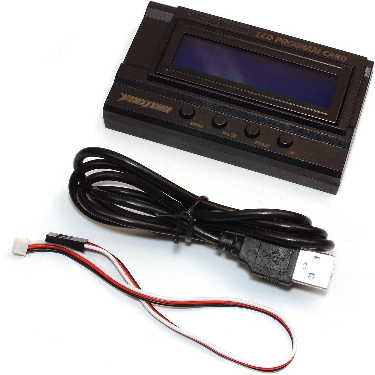 Fantom LCD Program Card For FR-10 ESC FAN24053 - $36.95
