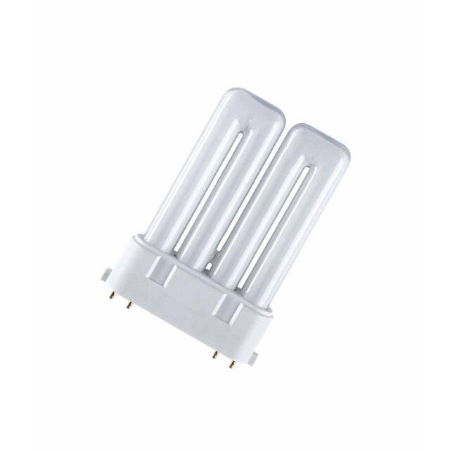 Osram Kompaktleuchtstofflampe DULUX F - 2G10, 830 Warmweiß - 24W - Licht Lampe