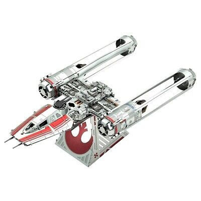 Star Wars Zorii's Y-Wing Fighter Metal Earth 3D Laser Cut Metal Puzzle by Fas...