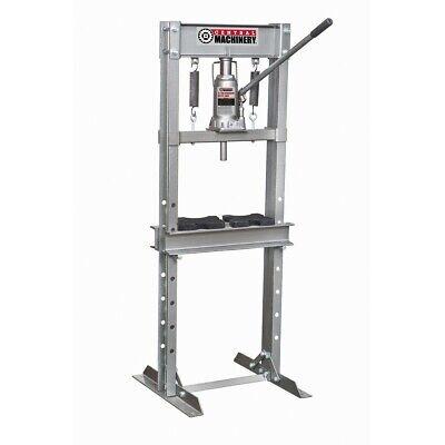 12 ton H-Frame Industrial Heavy Duty Floor Shop Press Hydraulic Jack Press Plate 12 Ton Shop Press