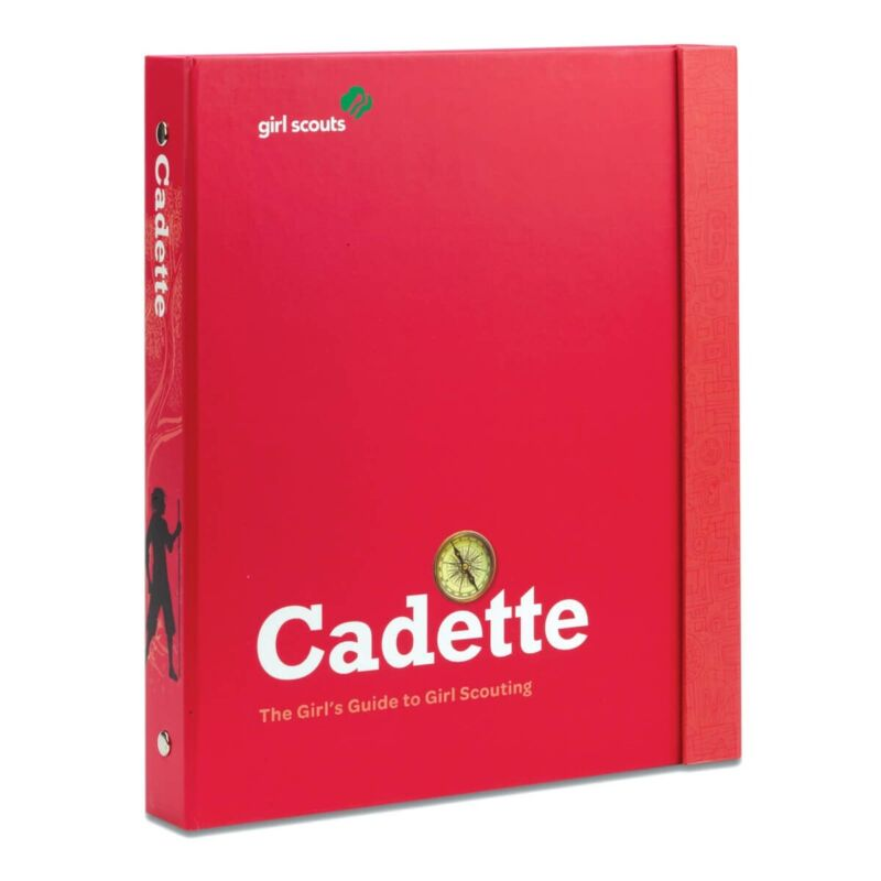 Girl Scouts Cadette Guide to Girl Scouting Book Binder Organizer