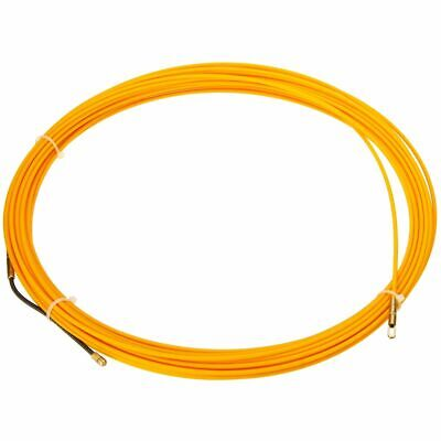 Guía Dispositivo Fibra de Vidrio Eléctrico Cable Empuje Tiradores Duct Serpiente