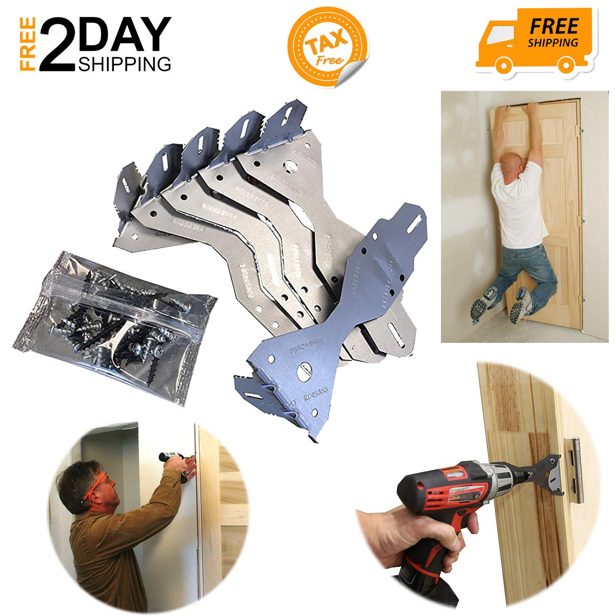 Door Install Kit 2 3x Stronger Faster Contains 6 Brackets Installingadoor