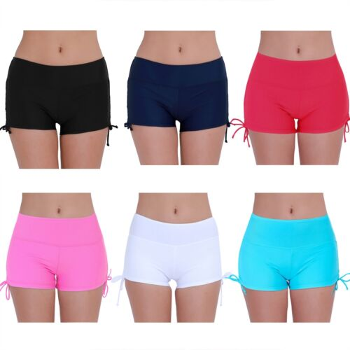 NOMUSING Womens Swim Bathing Suits for Womens Board Swimsuit Bottoms Swimming Shorts Sport Striped Beach Capris Trunks