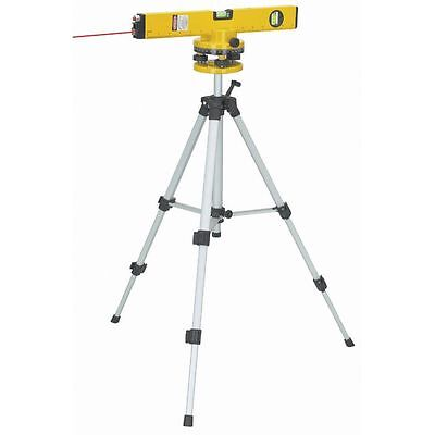 "16"" Laser Level with Swivel Head Tripod & Case Included 360 Degrees Rotation"