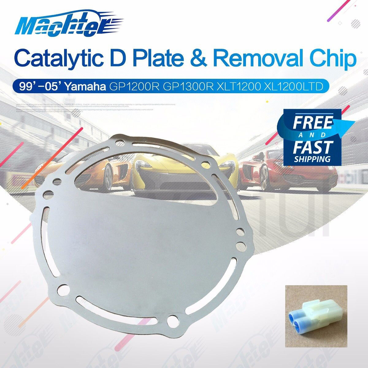 Yamaha Catalytic D Plate & Cat Removal Chip GPR XL XLT 1200 1300 Waverunner  | Shopping Bin - Search eBay faster