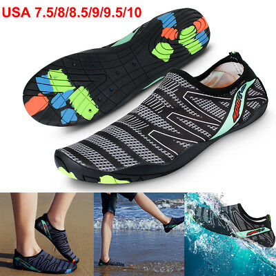 Men Quick Dry Water Shoes Barefoot Aqua Socks Yoga Beach Swim Pool Exercise Surf