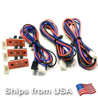 3 Pcs Optical Endstop Switch For Reprap 3d Printer Prusa Mendel Ramps 1.4 Or Cnc