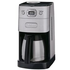 Cuisinart DGB-650 10Cup Grind and Brew Thermal Automatic Coffeemaker Silver/Bla
