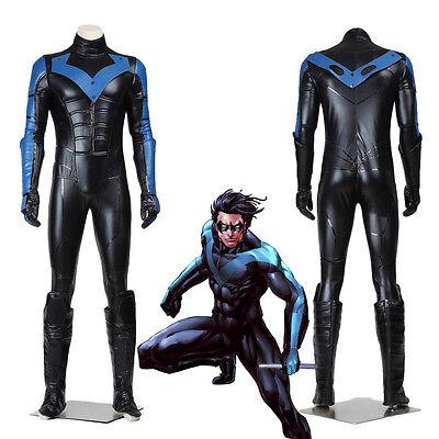 Top Grade Batman Young Justice Nightwing Cosplay Costume](Movie Grade Costumes)