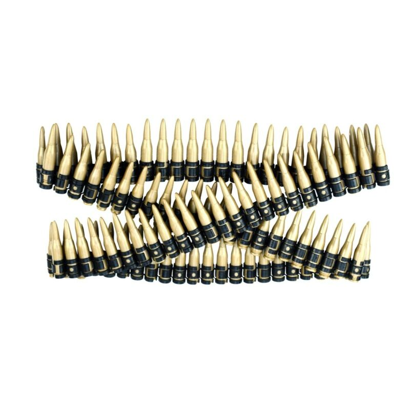 "60"" Plastic Toy Ammo Bullet Belt Bandolier Cowboy Army Soldier Costume Accessory"