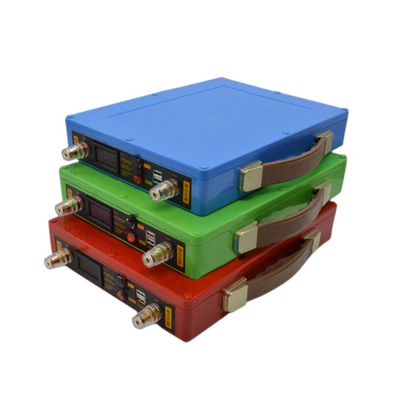 12V/14.6V/18V Li battery Case Power Bank 90pcs 18650 Batteries inverter