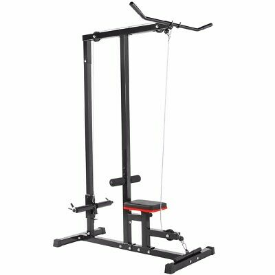 Perfect For Lat Pull Downs Senshi Japan/'s Ceiling Mounted Pulley Cable Machine