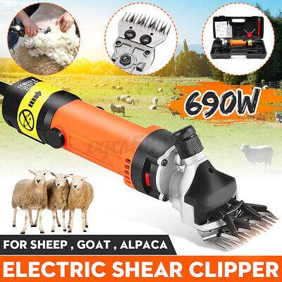 690w Electric Farm Supplies Sheep Goat Shears Animal Shearing Grooming Supplies