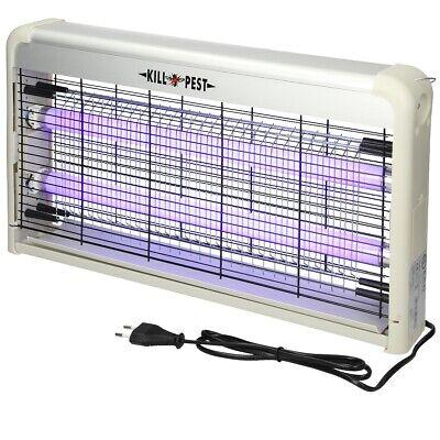 Lampara UV eléctrica control anti-insecto trampa mata mosquitos ultravioleta 30W