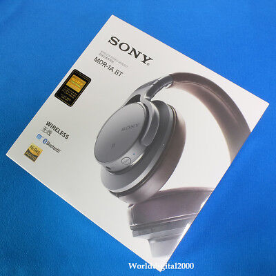 Sony MDR-1ABT Bluetooth Wirless Stereo Headband High-Resolution (Color:Silver)