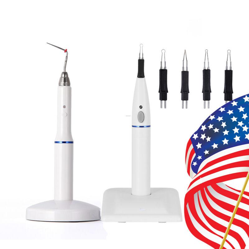 Dental Gutta Percha Obturation System Endo Heated Pen / Tooth gum cutter W/4Tips