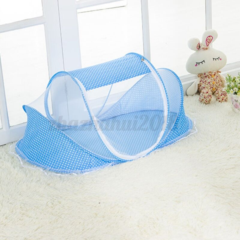Foldable Baby Infant Portable Foldable Mosquito Net Tent Travel Infant Bed Crib