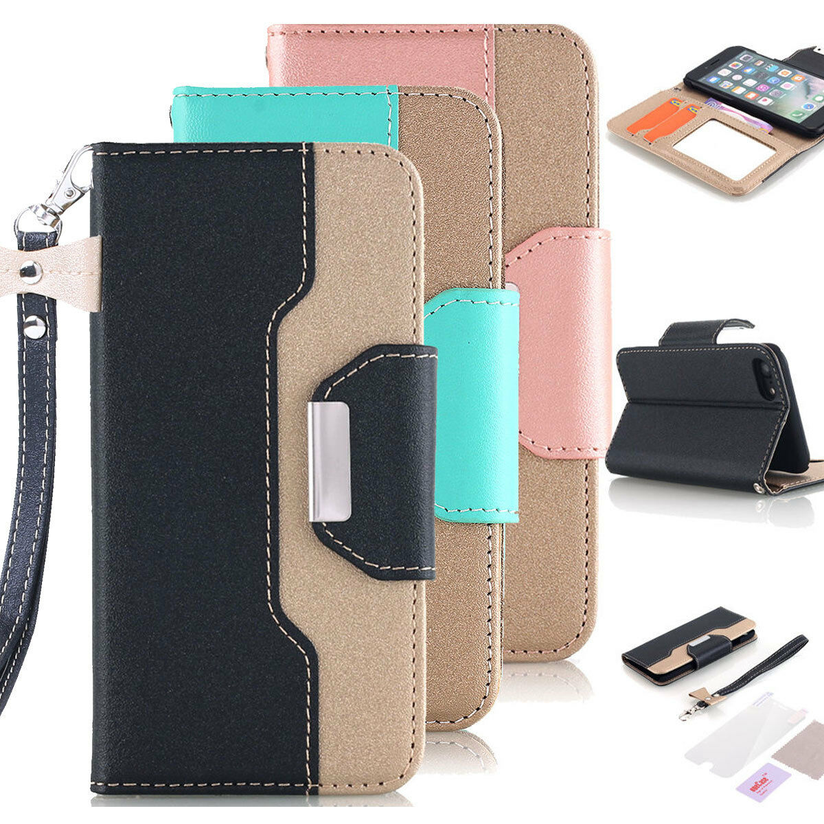 luxury-leather-flip-wallet-stand-phone-case-cover-for-iphone-x-7-8-plus-6s-plus