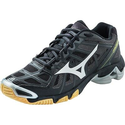 Mizuno Wave Lightning RX2 Mens Black/Silver Volleyball Shoes 430156.9073 NEW