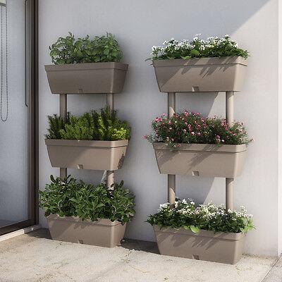 Plant pot 3 level stand trough ebay for Portavasi balcone