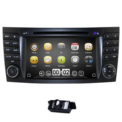 "7"" Dopple 2Din DAB+ Autoradio GPS Navi Sat für Mercedes E/CLS/G Klasse W211 W219"