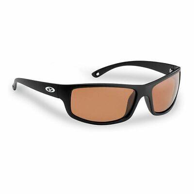 4b265d3d651 New Flying Fisherman Sunglasses Slack Tide Matte Black Copper 7756BC