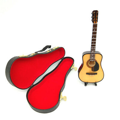 Dollhouse Musical Instrument Guitar Case Holder 1:6 Miniature Decor Accessories