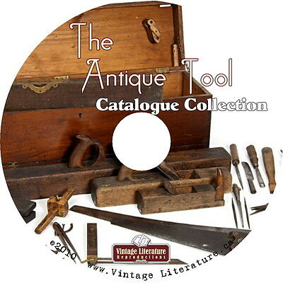 Antique Tool Catalog Collection { 59 Vintage Identification Catalogs } on DVD