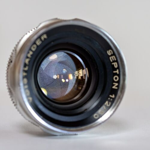 Voigtlander Septon 50mm f2 Deckel Mouint for Bessamatic and Ultramatic