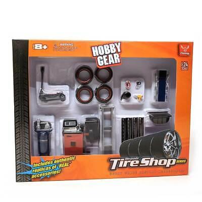 Hobby Gear: Repair Tire Shop Accessories Set 1/24 Scale