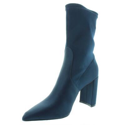 INC Womens Savina Solid Pointed Toe Fashion Sock Boot Shoes