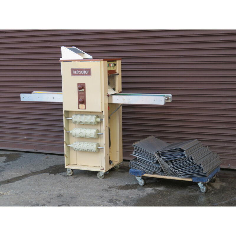Kalmeijer KGM Biscuit Rolling and Shaping Machine, Used Great Condition