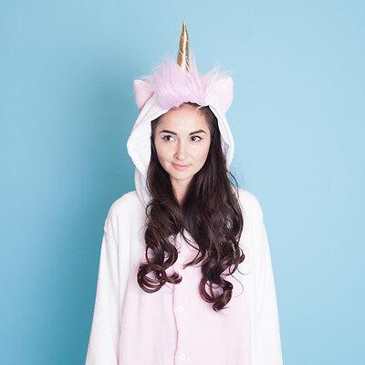 Smoko Unicorn Fun Cute Kawaii Plush Cosplay Costume Halloween Pajamas One Piece