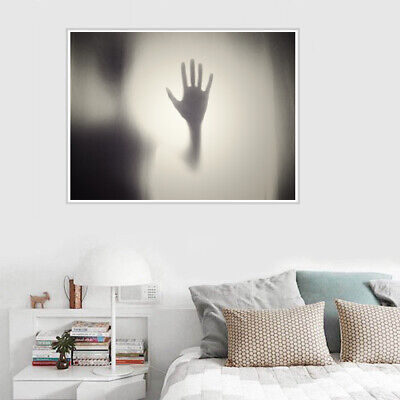 Terrifying Halloween Decorations (Terrifying Abstract Palms Canvas Painting Poster Halloween Party Art)