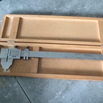 Starrett36 Vernier Caliper With Wood Case