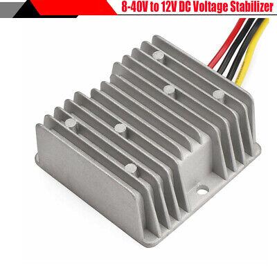 8-40v To 12v 6a Dc Voltage Stabilizer 72w Power Supply Regulator For Autos Car