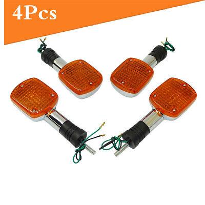 Motor Turn Signal Indicator Lights Fit Honda Shadow ACE VT 750 1100 VLX 600 x4pc