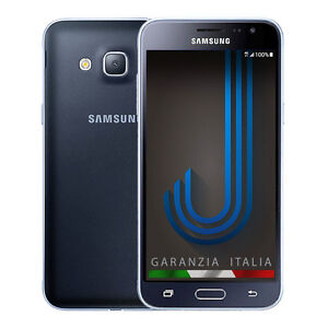 Samsung-GALAXY-J3-Nero-GARANZIA-ITALIA-J320F-s-5-0-034-HD-4G-LTE-Black-NUOVO