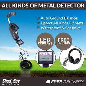 Free Delivery: Deep Sensitive Searching Metal Detector LCD Scree Homebush Strathfield Area Preview